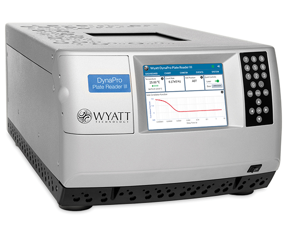 DynaPro Plate Reader, DLS, sec analysis, quasi elastic light scattering, DynaPro NanoStar, QELS